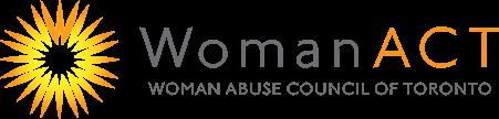 Woman Act Logo, Return to home